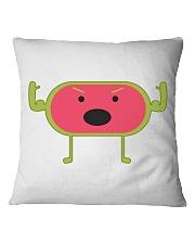 Angry Watermelon Square Pillowcase thumbnail