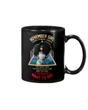 NOVEMBER GIRL - NOVEMBER BIRTHDAY - BORN IN NOVEMB Mug thumbnail