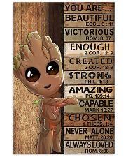 Poster Baby groot You are beautiful victorious 11x17 Poster front