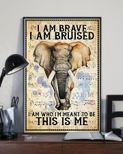 POSTER Elephant I'm brave I'm Bruised I'm who I'm  11x17 Poster lifestyle-poster-2
