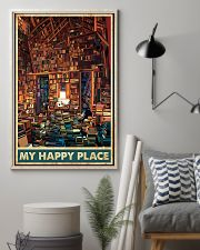 Library my happy place poster 11x17 Poster lifestyle-poster-1