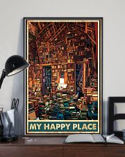 Library my happy place poster 11x17 Poster lifestyle-poster-2