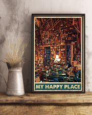 Library my happy place poster 11x17 Poster lifestyle-poster-3