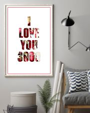 Iron man I love you 3000 poster 11x17 Poster lifestyle-poster-1
