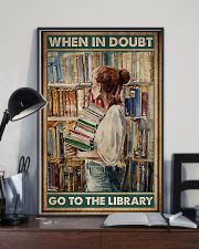 When in doubt go to the library poster 11x17 Poster lifestyle-poster-2