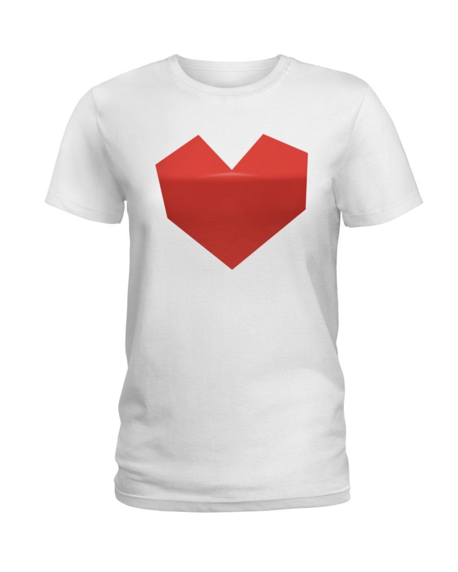 Mighty Aphrodite 'Heart' Logo Shirt Ladies T-Shirt