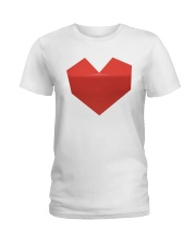 Mighty Aphrodite 'Heart' Logo Shirt Ladies T-Shirt front