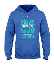 Assistant Coach 3 Hooded Sweatshirt front
