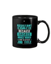 Assistant Coach 3 Mug thumbnail