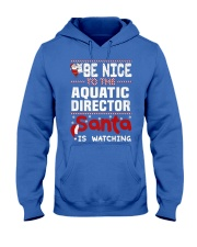 Aquatic Director 5 Hooded Sweatshirt front