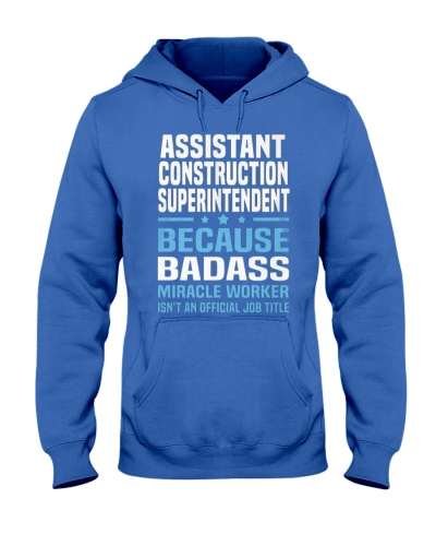 Assistant Construction Superintendent Ts