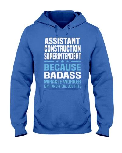 Assistant Construction Superintendent Ts