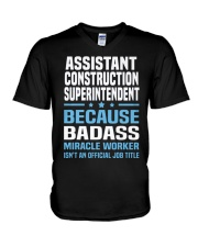 Assistant Construction Superintendent Ts V-Neck T-Shirt thumbnail