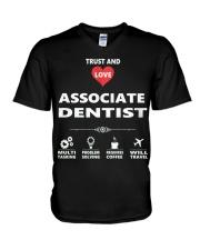 Associate Dentist V-Neck T-Shirt thumbnail