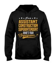 Assistant Construction Superinten Hooded Sweatshirt thumbnail