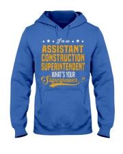 Assistant Construction Superinten Hooded Sweatshirt front