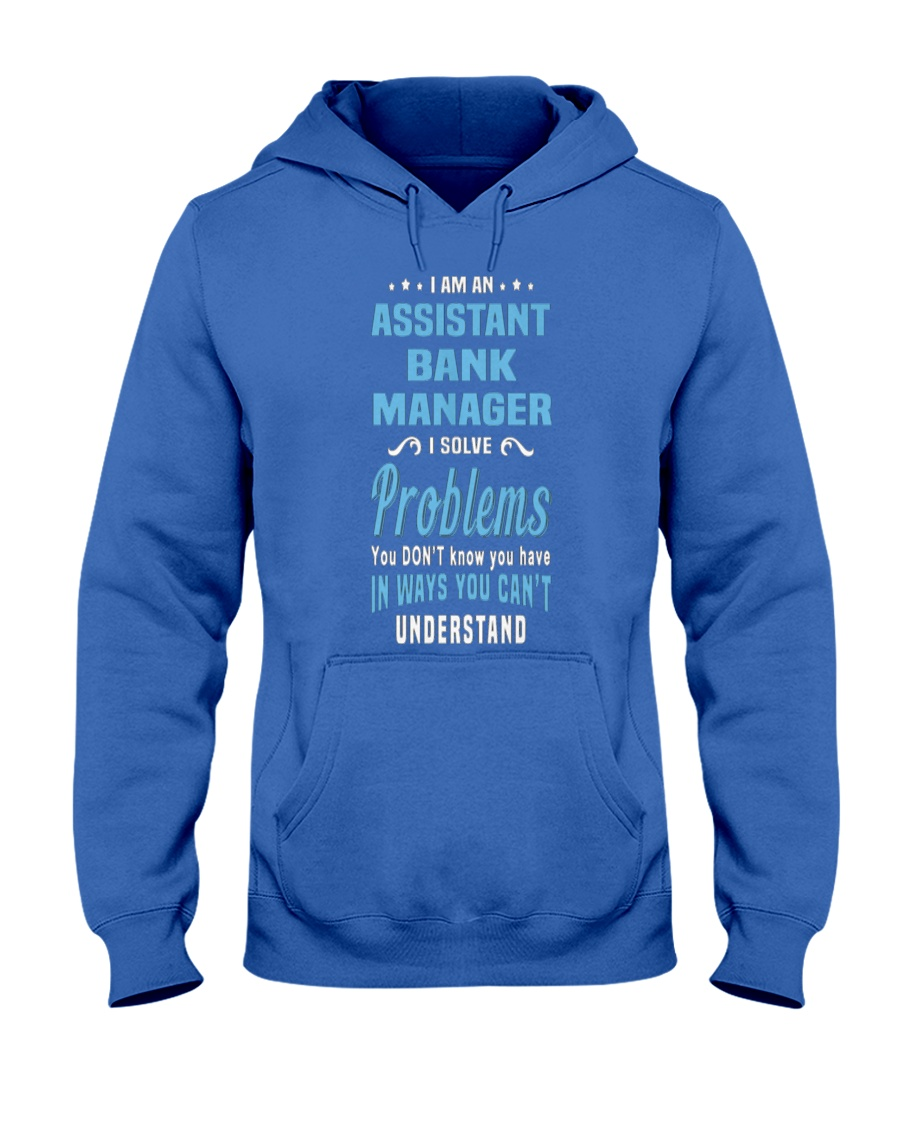Assistant Bank Manager 094111 Hooded Sweatshirt
