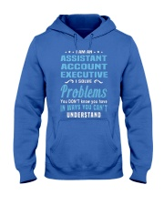 Assistant Account Executive 2 1 Hooded Sweatshirt front