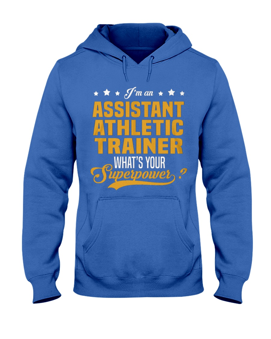 Assistant Athletic Trainer T Shirts 1 Hooded Sweatshirt