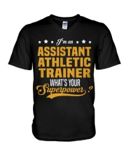 Assistant Athletic Trainer T Shirts 1 V-Neck T-Shirt thumbnail