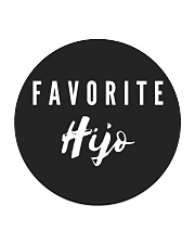 Favorite Hijo Spanish Collection Circle Coaster front