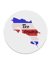 Tico Orgulloso Latin Pride Collection Circle Coaster front