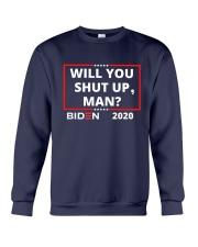 Will You Shut Up Man Crewneck Sweatshirt thumbnail