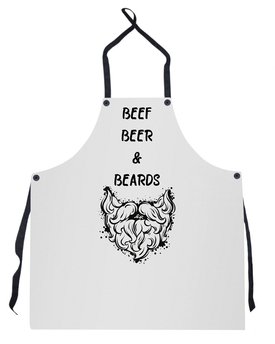 BEEF BEER AND BEARDS Apron