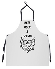 BEEF BEER AND BEARDS Apron front