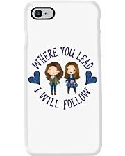 Where You Lead I Will Follow Phone Case thumbnail