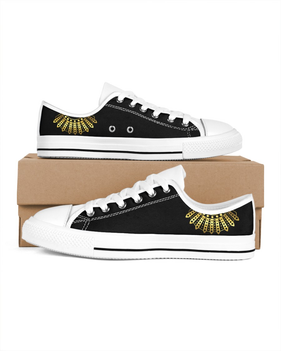 RBG Women's Low Top White Shoes