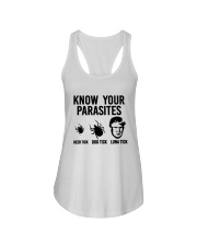 KNOW YOUR PARASITES Ladies Flowy Tank thumbnail