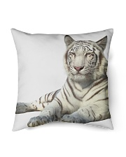 "White Tiger Indoor Pillow - 16"" x 16"" front"