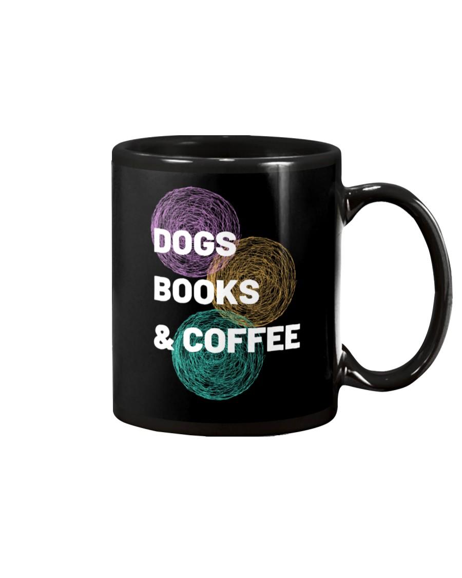 DOGS BOOKS AND COFFEE Mug