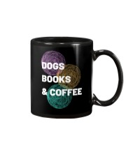 DOGS BOOKS AND COFFEE Mug front