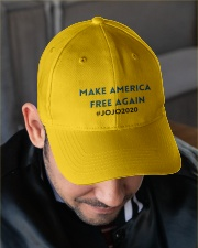 JOJO2020 Embroidered Hat garment-embroidery-hat-lifestyle-02