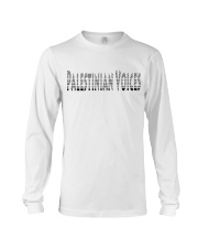 Palestinian Voices  Long Sleeve Tee thumbnail