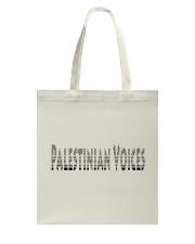 Palestinian Voices  Tote Bag thumbnail