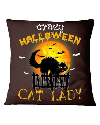 Crazy halloween cat lady - HL