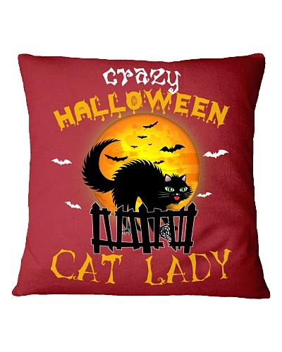 Crazy halloween cat lady - HL