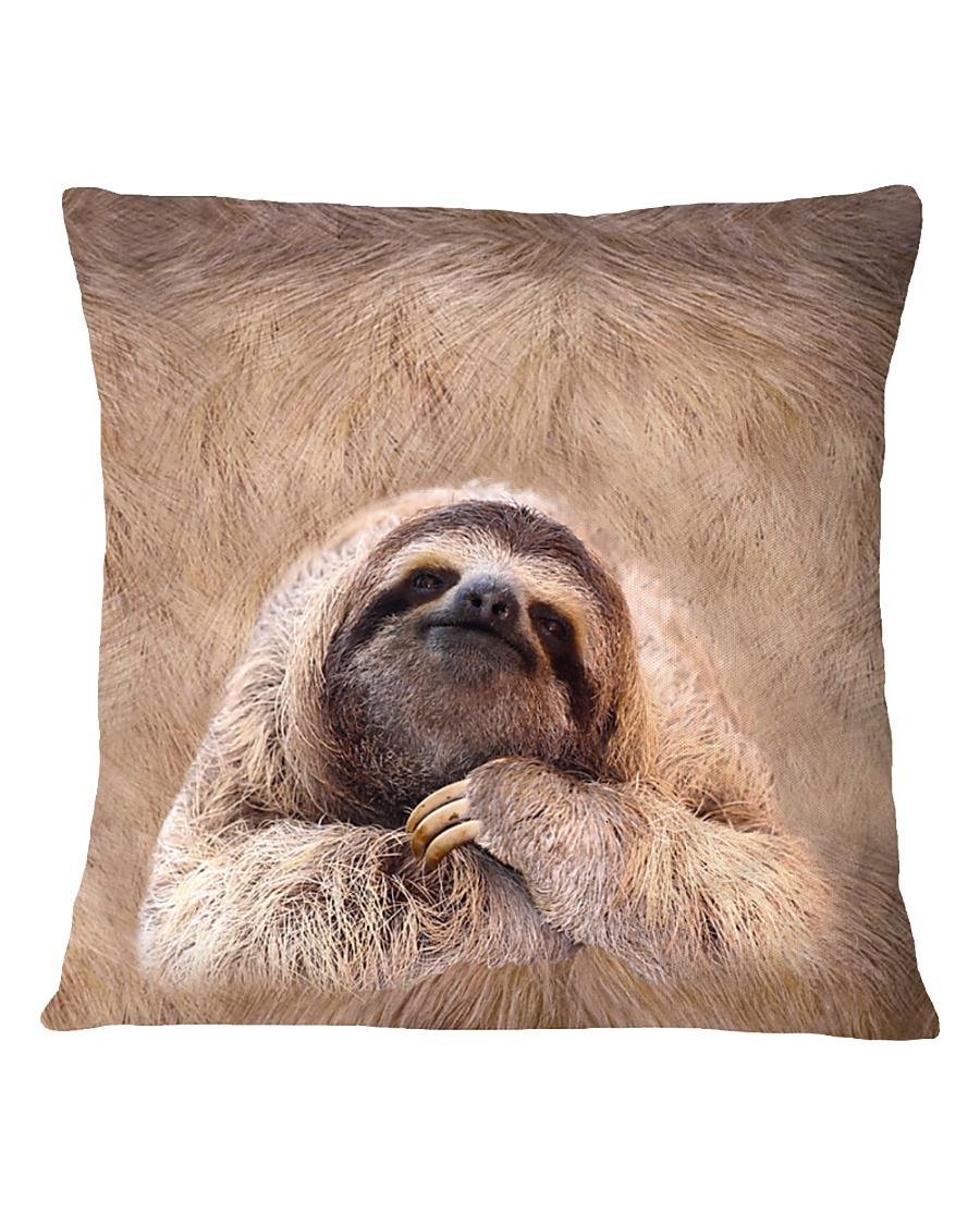 Sloth 3D Square Pillowcase