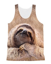 Sloth 3D All-over Unisex Tank thumbnail