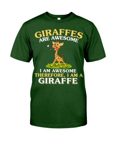 I am a giraffe - AL