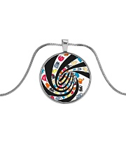 Cat spin - JY Metallic Circle Necklace thumbnail