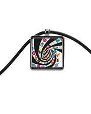 Cat spin - JY Cord Rectangle Necklace thumbnail