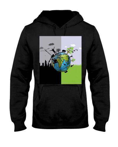 Earth black and green - AL