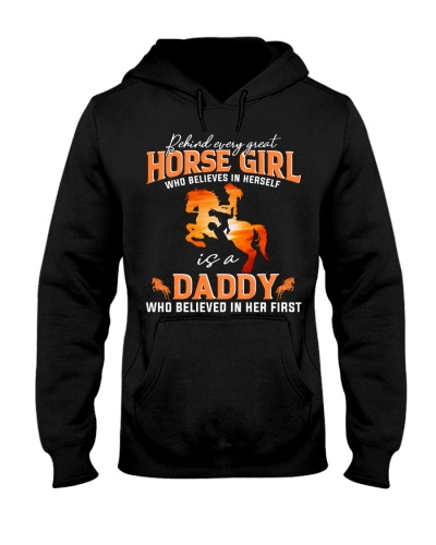 Behind Every Great Horse Girl Who Believes Daddy
