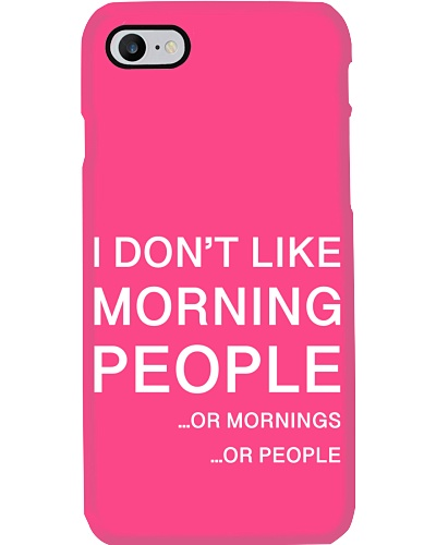 I don't like morning people - AS