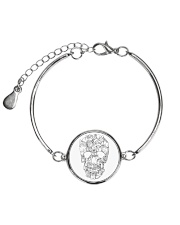 Cats skull - JY Metallic Circle Bracelet thumbnail