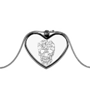 Cats skull - JY Metallic Heart Necklace thumbnail